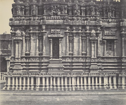 The south facade of Subrahmanya Swami's Temple [Brihadishvara Temple, Thanjavur]